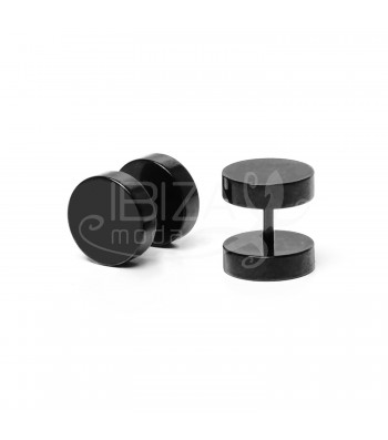 BUTTON BLACK L